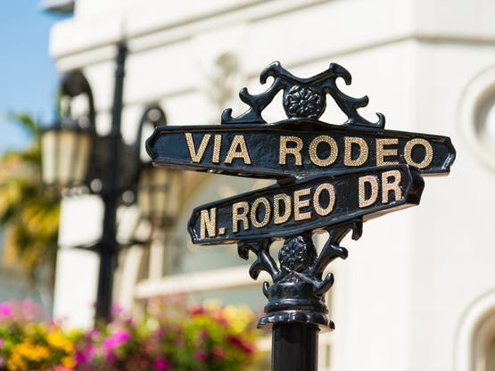 Rodeo Drive. Los Angeles, EUA