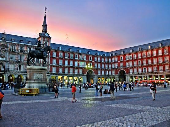Plaza Mayor, Madri