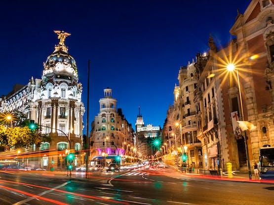 Gran Vía, Madri