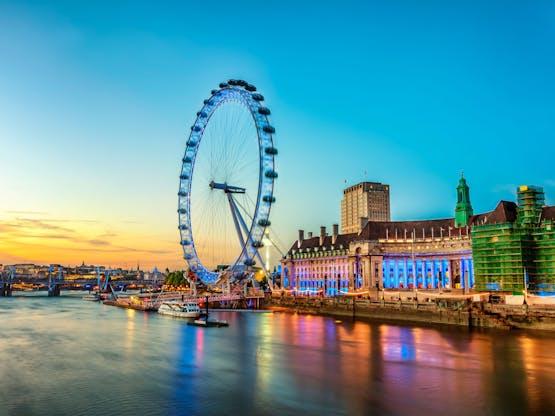 London Eye. Londres, Inglaterra