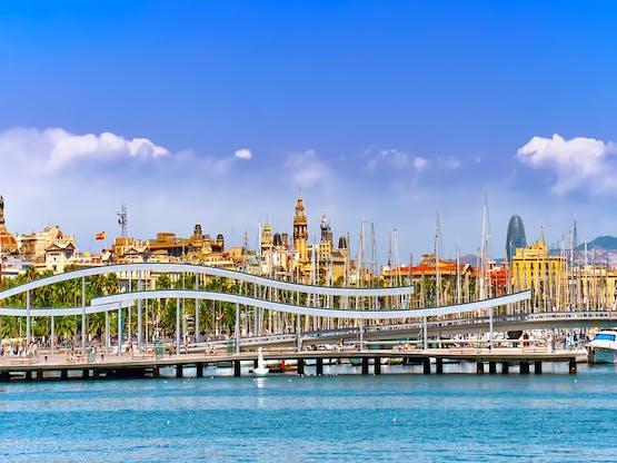Porto de Barcelona, Espanha