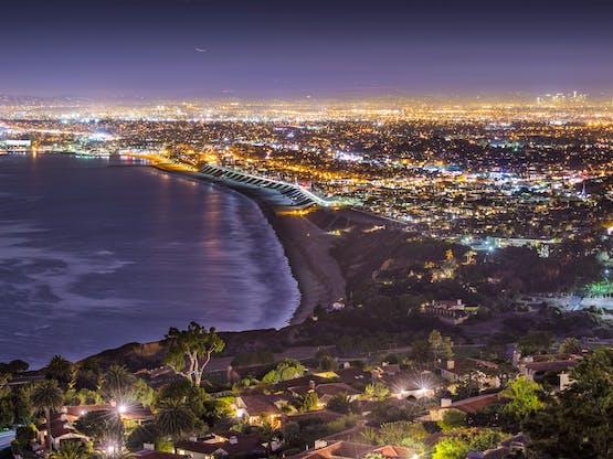 Pacific Coast. Los Angeles, EUA