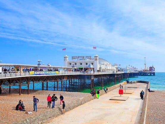 Brighton Pier. Brighton, Inglaterra