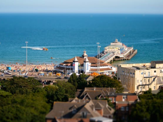 Pier. Bournemouth, Inglaterra