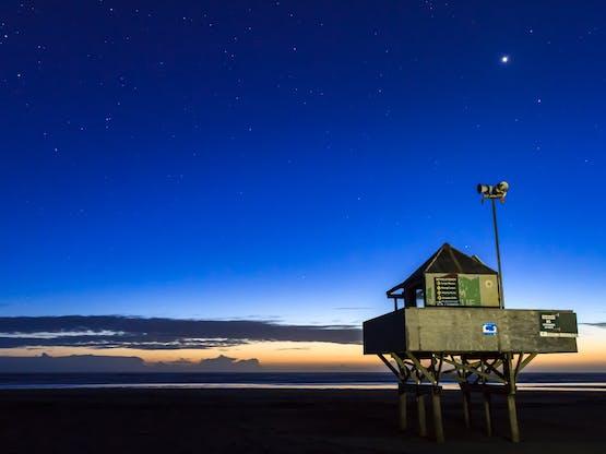 Bethells Beach (Te Henga). Auckland, Nova Zelândia